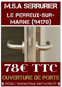 Serrurier Le Perreux Sur Marne