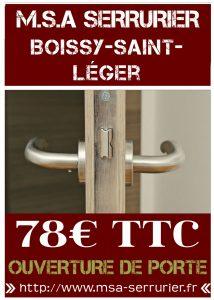 Serrurier Boissy Saint Léger