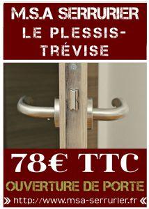 Serrurier Le Plessis Trévise