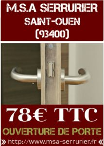 Serrurier Saint Ouen